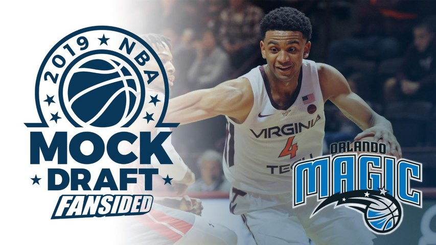 2019 NBA Mock Draft - Magic select Nickeil Alexander-Walker with No. 16 Pick