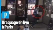 Braquage d'une bijouterie à Paris : «Je voyais le voleur remplir son sac»