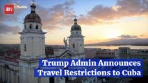 President Trump Says No To Cuban Travel