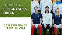Coupe du monde féminine de football   Les grandes dates de l'équipe de France féminine de football