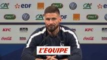 Giroud sur la concurrence avec Mbappé «C'est le coach qui décide» - Foot - Bleus