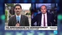 75e anniversaire du Débarquement : Les cérémonies se poursuivent à Caen