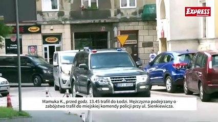 Mamuka K., przed godz. 13.45 trafił do Łodzi. Mężczyzna podejrzany o zabójstwo trafił do miejskiej komendy policji przy ul. Sienkiewicza.