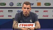 Digne «On se tire la bourre» - Foot - Qualif. Euro 2020 - Bleus