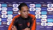 Virgil van Dijk on Harry Kane ahead of Nations League semi-final