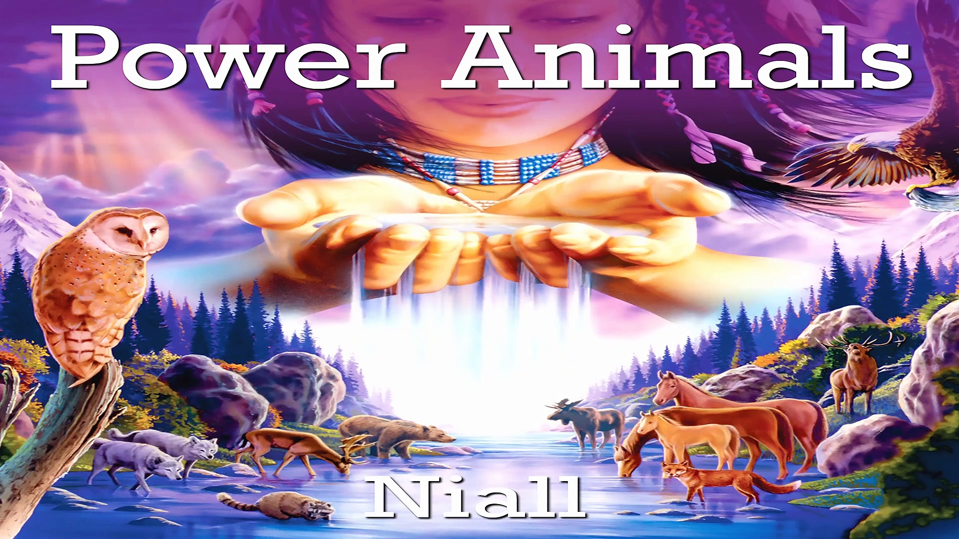 Power Animals – Native American Spiritual Music, Native Indian Flutes & Drums