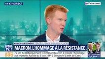 """75 ans du Débarquement : """"La paix est une construction politique (..) et toujours fragile"""" pour Adrien Quatennens (LFI)"""