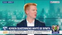 """Après l'échec des européennes, la nouvelle génération de LFI """"est en place"""" annonce Adrien Quatennens"""