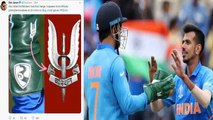 World Cup 2019 IND vs SA: MS Dhoni sports Army insignia on Wicket Keeping gloves | वनइंडिया हिंदी