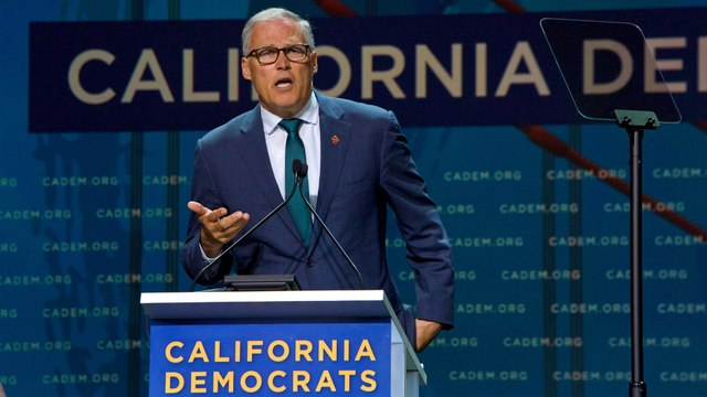 Gov. Jay Inslee Touts Climate Change Bona Fides as 2020 Hopefuls Confront the Issue