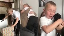 Bullied Boy Gets Puppy Surprise After School