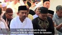 Les musulmans célèbrent l'Aïd el-Fitr à travers le monde