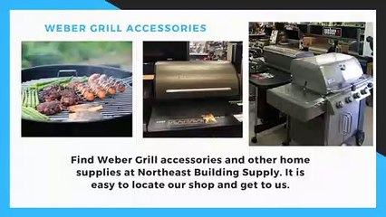 Weber Grill Accessories from Cornwall Bridge