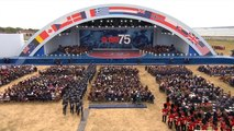 D-Day veterans honored 75 years after the historic invasion