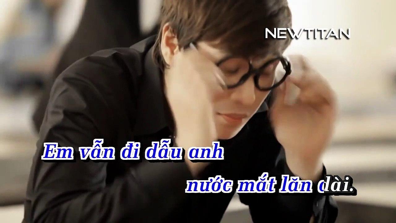 [Karaoke] Anh Đâu Định Khóc (Remix) - Nguyên Khôi [Beat]