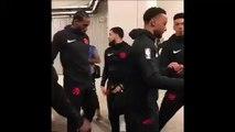 Psychopathic Focused Kawhi Leonard leaves teammate Norman Powell hanging before Game 3 NBA Finals Raptors vs Warriors 6-5-19