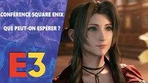 E3 2019 : Qu'attendez -vous de la conférence Square Enix ?
