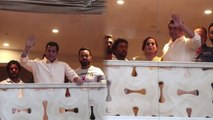 Salman Khan waves to fans, wishes them Eid Mubarak; Watch video | FilmiBeat