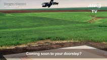 Amazon shows off latest delivery drones
