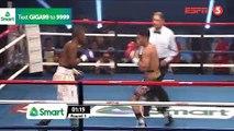 Reymart Gaballo vs Julias Kisarawe (30-09-2018) Full Fight