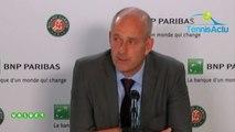 "Roland-Garros 2019 - Guy Forget et Roland-Garros ""dans l'inconnu !"""
