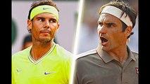 Federer vs Nadal ● 10 Minutes of EPIC Points in Grand Slam (HD)