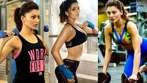 URVASHI RAUTELA SENSATIONAL Hard Workout At Gym