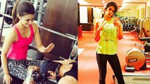 GLAMOROUS Kriti Sanon Full Fitness Body GYM Workout Video
