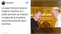 Le pape François recevra Vladimir Poutine le 4 juillet