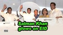 Salman Khan glows on EID as 'BHARAT' hit the screens