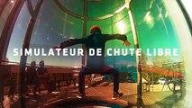 Découvrez le parachutisme indoor grâce à la soufflerie Sky Circus à Chalon-sur-Saône (71)