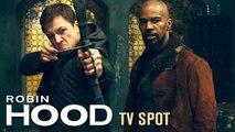 Robin Hood (2018) TV Spot Witness the Legend  Taron Egerton, Jamie Foxx, - Jamie Dornan