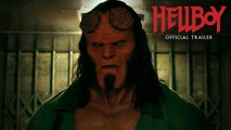 """Hellboy (2019 Movie) Official Greenband Trailer """"Smash Things  David Harbour, Milla Jovovich"""