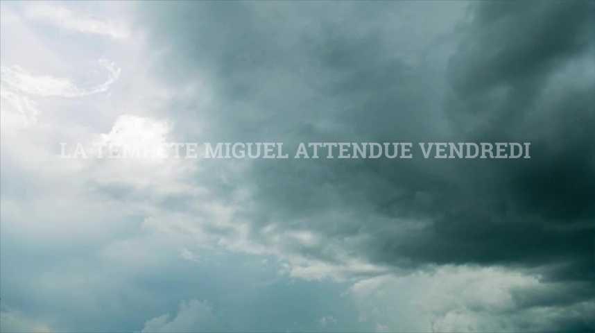 La tempête Miguel attendue vendredi sur l'ouest de la France