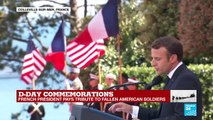 """D-Day commemorations: """"France does not forget"""""""