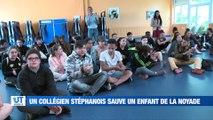 A la Une : La vidéo choc d'un abattoir à Andrézieux-Bouthéon / Le Ministre de l'Agriculture dans la Loire / A 14 ans, un collégien stéphanois sauve un enfant de la noyade / Les Rivières Pourpres s'installent à Sainte-Croix-en-Jarez