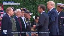 D-Day: Emmanuel Macron fait chevaliers de la Légion d'honneur plusieurs vétérans de la Seconde Guerre mondiale