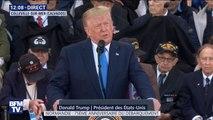"""Donald Trump aux vétérans: """"Vous êtes les plus grands Américains qui aient jamais vécu (...) Vous êtes la fierté de notre nation"""""""
