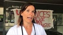 Grève au CHU de Saint-Priest-en-Jarez