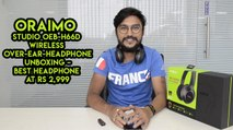 Oraimo Studio OEB-H66D Wireless Over-Ear-Headphone Unboxing – Best Headphone At Rs 2,999