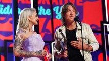 Keith Urban gives wife Nicole Kidman a sweet shoutout as he picks up CMT Award