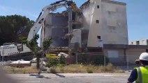 Vauvert : démolition de l'Oustaou