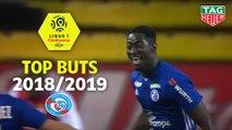 Top 3 buts RC Strasbourg Alsace | saison 2018-19 | Ligue 1 Conforama