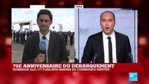 D-Day : Emmanuel Macron rendra hommage aux 177 fusiliers du commando Kieffer
