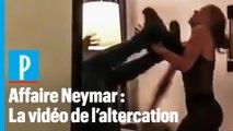 Affaire Neymar : la vidéo de l'altercation avec la plaignante