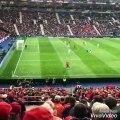 Cristiano Ronaldo casse les reins de Kevin Mbabu