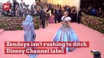 Zendaya Isn't Afraid To Associate With Disney Channel