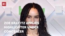 Zoe Kravitz Reveals Her Makeup Routine