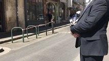 Melania Trump et Brigitte Macron quittent le restaurant À Contre Sens