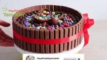 Böyle Pasta Yapmak Çok Kolay  Bol Çikolatalı Kitkat Pasta Tarifi - Kolay Pasta